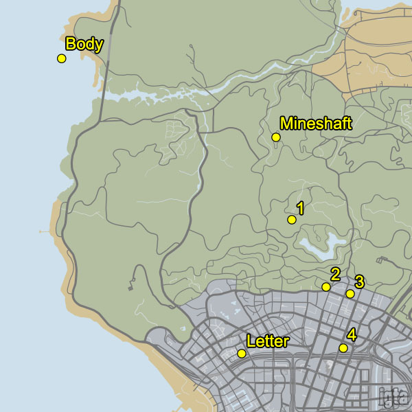 Murder Mystery Map