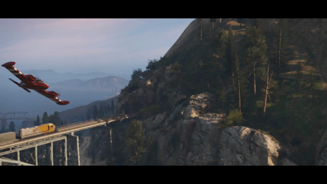 Scene 24 - Flying around