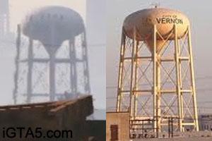 Vernon Water Tower