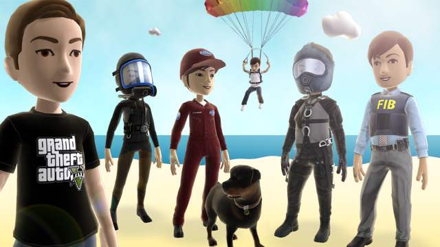 GTA 5 Xbox LIVE Avatars
